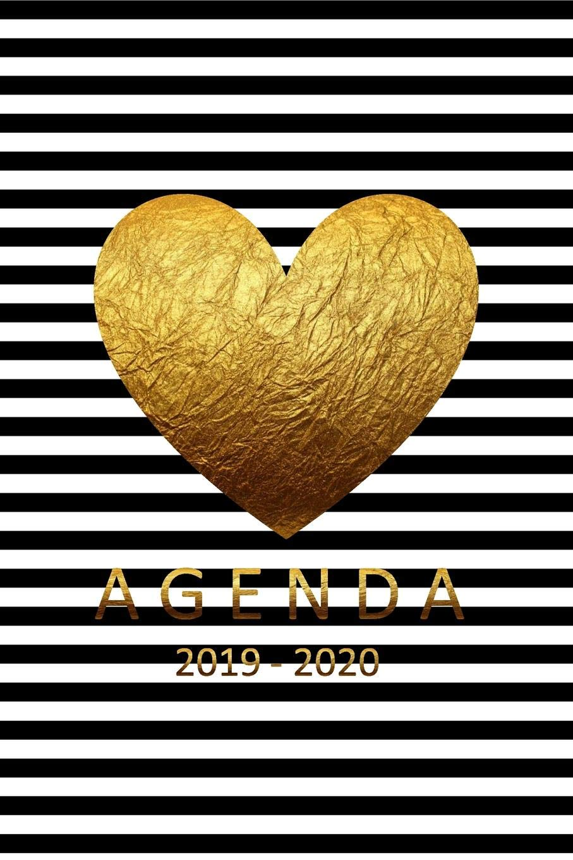 Amazon.com: agenda 2019-2020: agenda 2019-2020 semanal del 1 ...