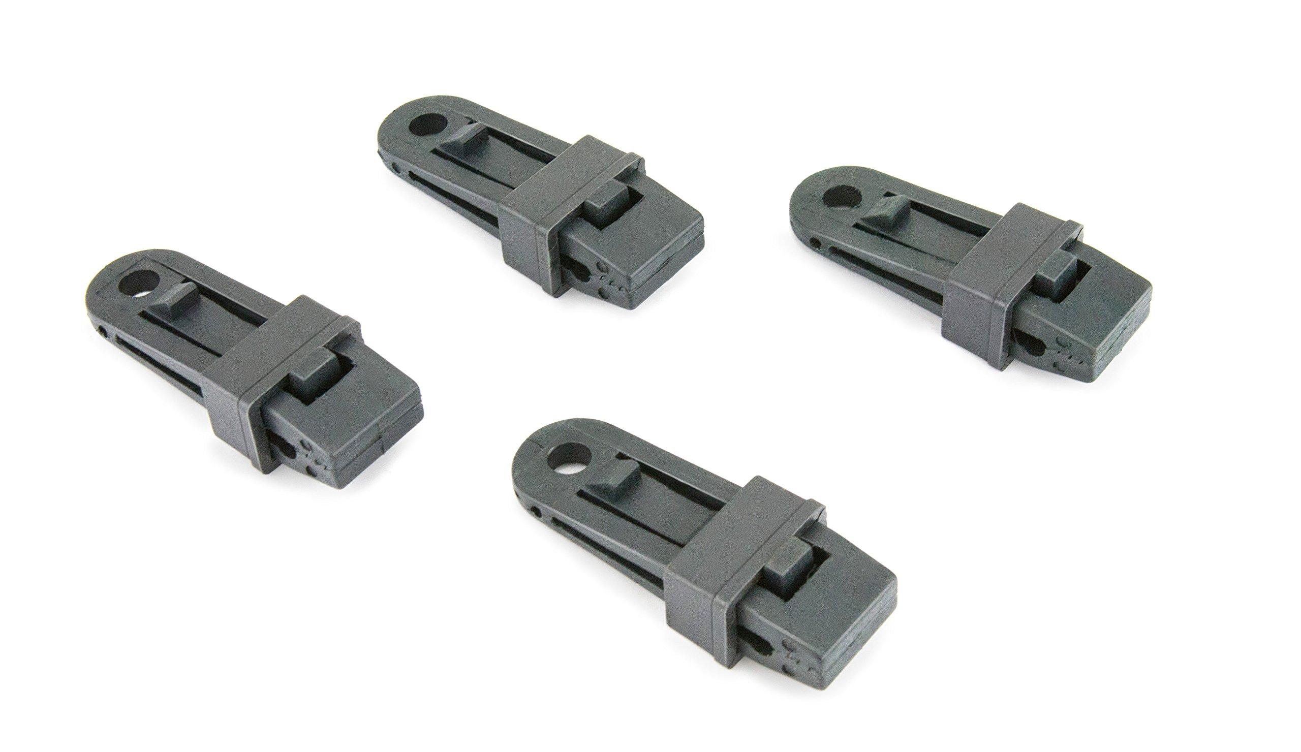 Reese Secure 9429400 Black Tarp Clip, 4 pack