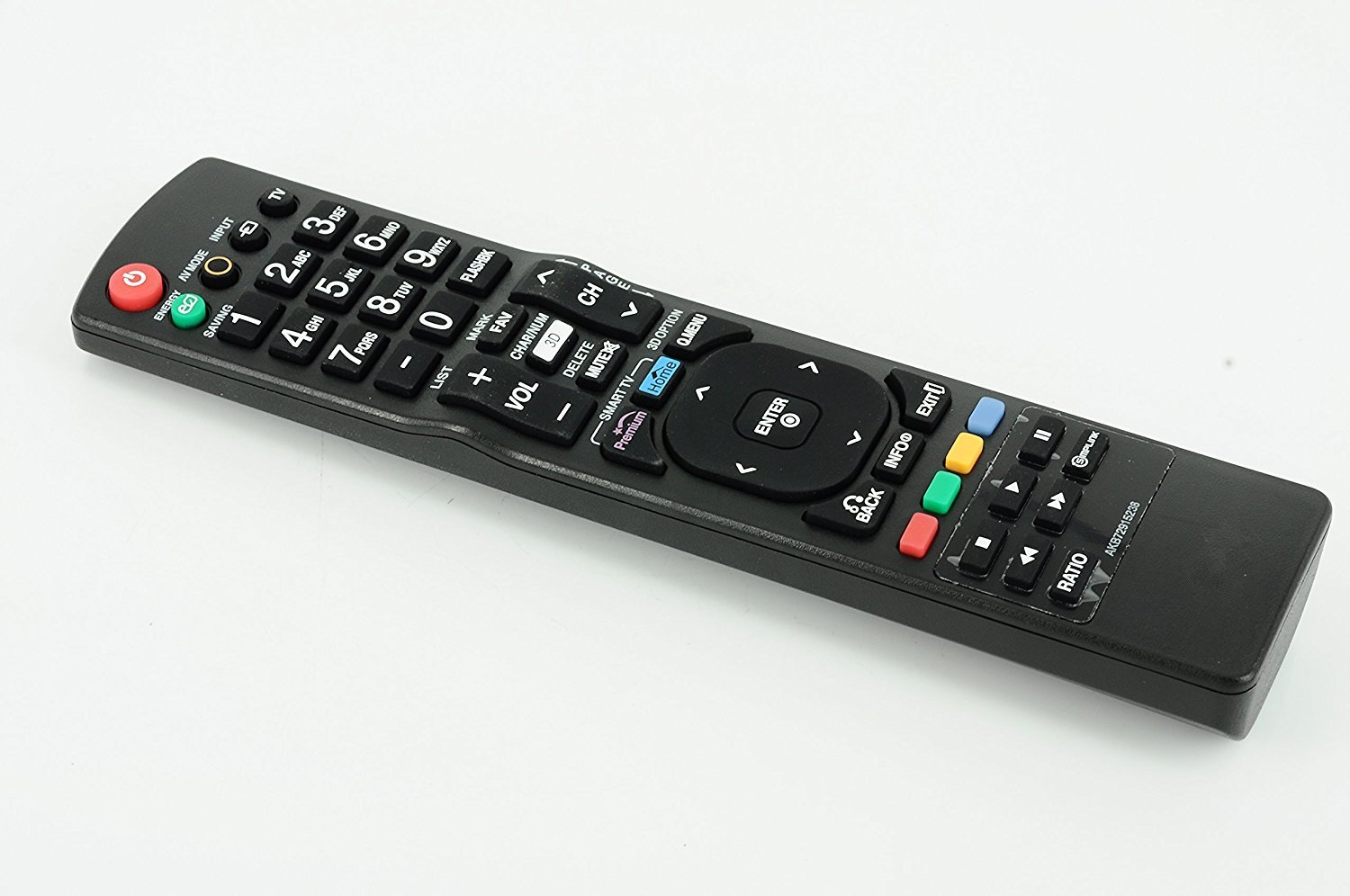AWO AKB72915238 New Replacement Remote Control For LG 3D TVs 47LV3700 47LV5400 47LV5500 47LW5600 47LW5700