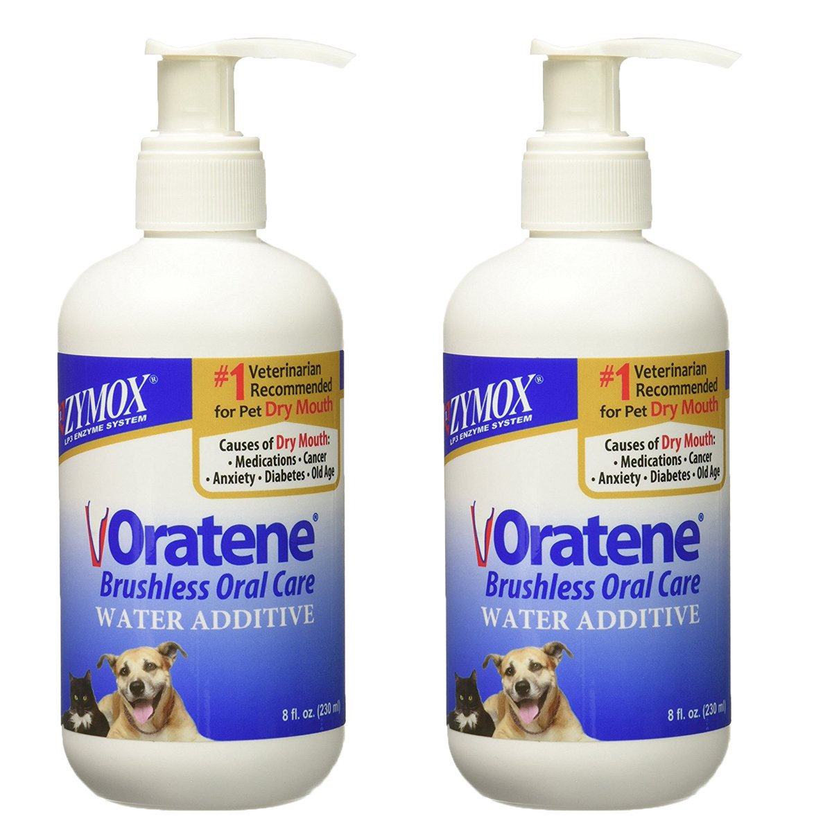 PET KING Oratene Veterinarian Drinking Water Additive, 8.0 oz. (2 Pack)