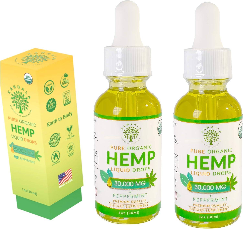 Organic Pure Hemp Oil