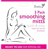 Pretty Smooth 3 Pack Exfoliating Smoothing Mitts