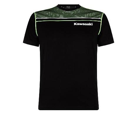 Kawasaki Sports Herren T Shirt Schwarz Amazon De Bekleidung