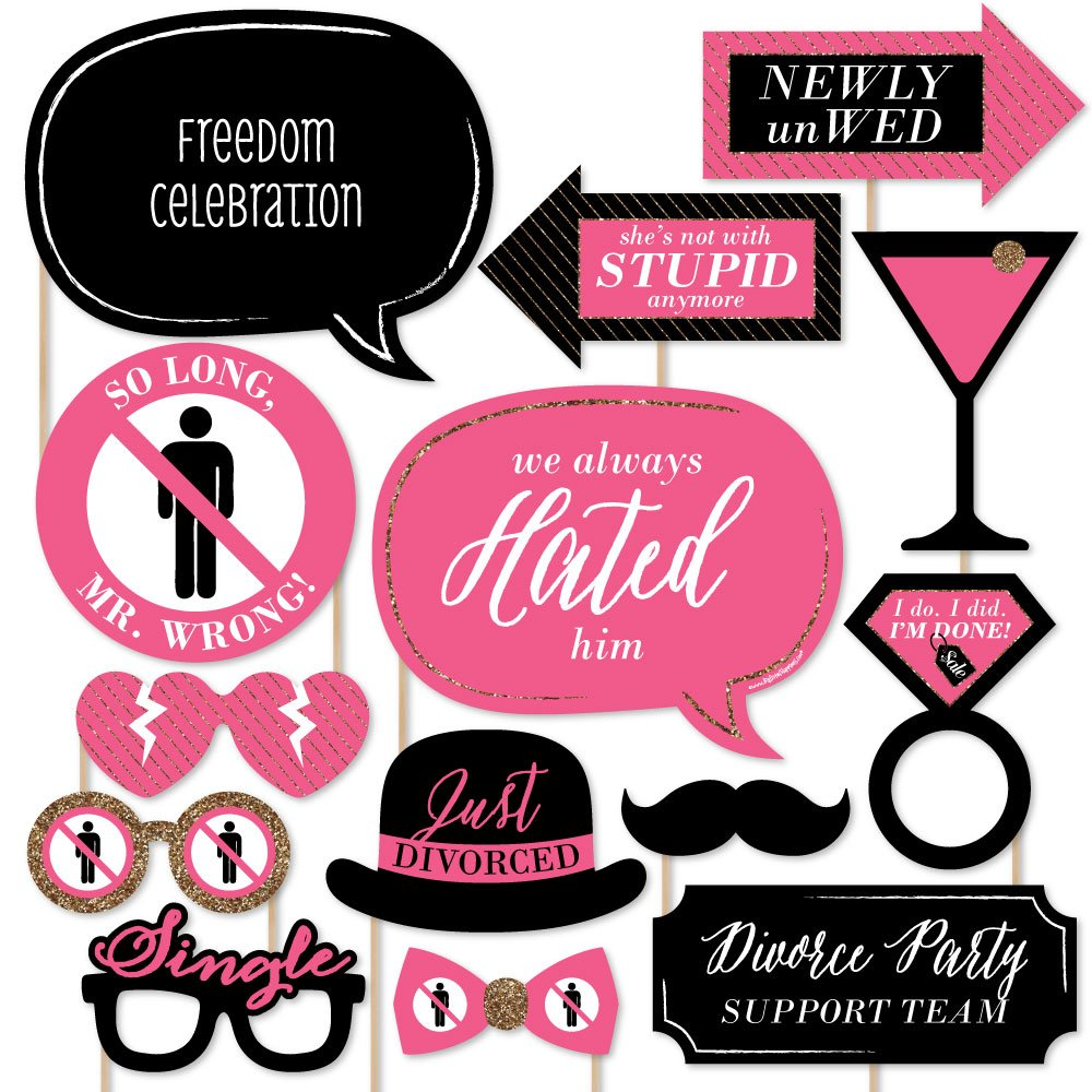 www.DivorcePartyStore.com-Party Games |Divorce Party Themes