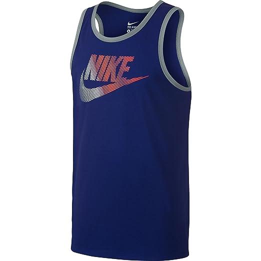 af9f4be668d22 Nike Futura Pack Men s Tank Top Deep Royal Blue Bright Crimson 739607-455 (