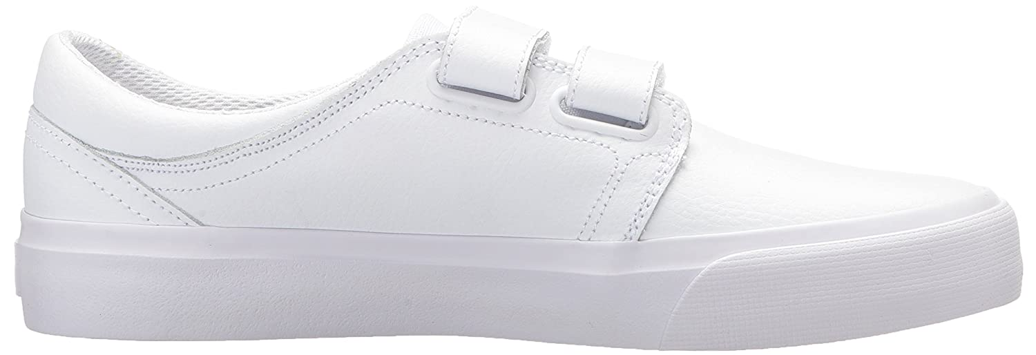DC Women's Trase V SE Skate Shoe B0731YNFWV 9 B(M) US|White/White/Athletic Red