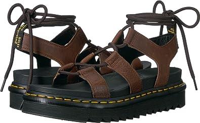 2066b8864db4d Amazon.com   Dr. Martens Women's Nartilla Hydro Sandal   Platforms ...