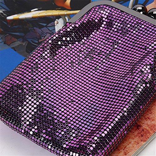 Soirée Mousseux Pochette De Lovely Mode Mariée Purple Sac Paillettes Purple De rabbit Mariage Color Soirée Soirée Sac Y1HHqBw