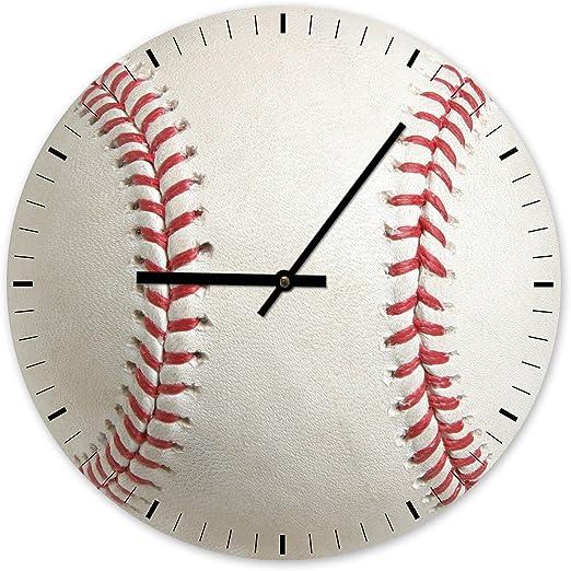 Pelota de béisbol – Designer Reloj de pared Reloj, klein 17cm ...