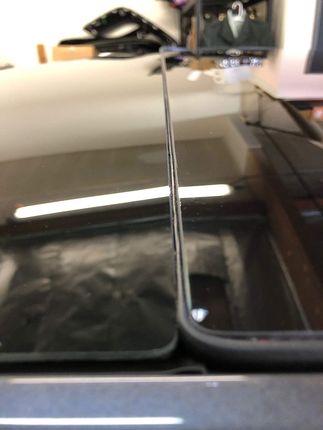 AY Customs Tesla Model 3 Windshield /& Roof Wind Guard Noise Lowering Dampening Reduction Kit Quiet Seal Version 2