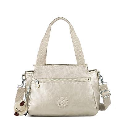 9cd28e2a85 Kipling Elysia Metallic Handbag Cloud Grey Metallic: Handbags: Amazon.com
