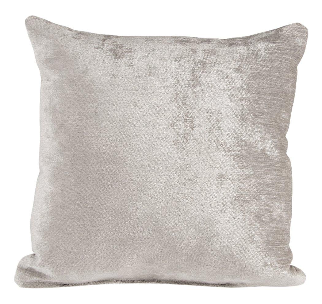 Glenna Jean Fly-By Pillow, Grey Velvet