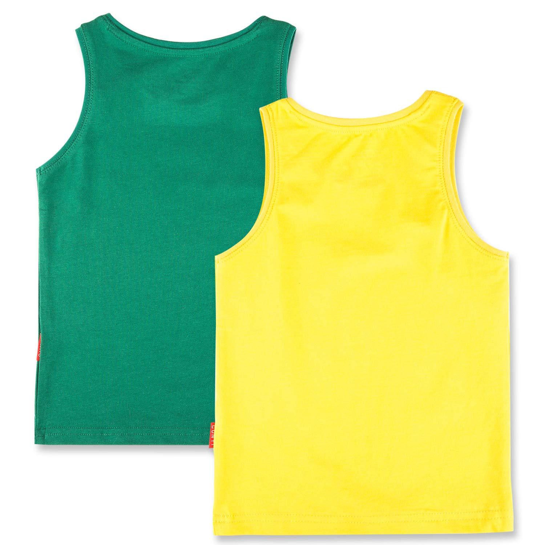 CUNYI Boys Cotton Tank Tops Undershirts 1 or 2 Pack