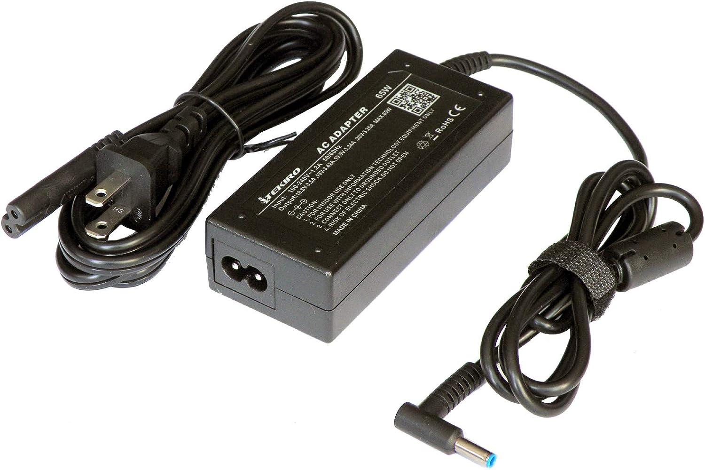 iTEKIRO AC Adapter for HP 15-f125wm 15-f133wm 15-f158ca 15-f162dx 15-f199nr 15-f211wm 15-f222wm 15-f233wm 15-f271wm 15-f272wm 15-f305dx 15-f337wm 15-f387wm 15-g011nr 15-g013dx 15-g019wm 15-g020nr