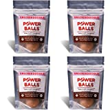 Paleo Angel Power Balls Healthy Paleo Approved Gluten Free AIP Protein Snack Bars (Snickerdoodle 4-Pack)