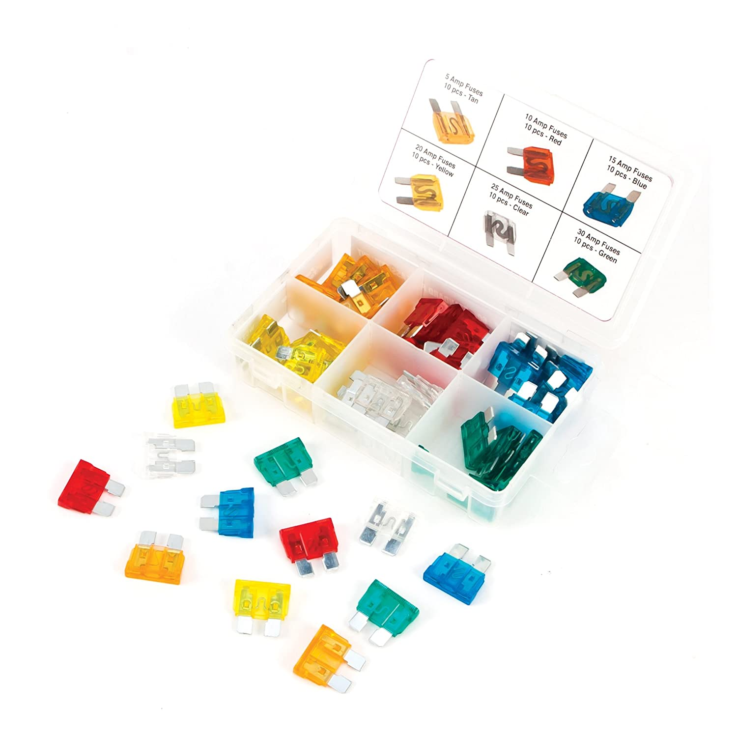 Performance Tool W5368 Performance Tool ATO Fuse Assortment - 120 Piece Wilmar