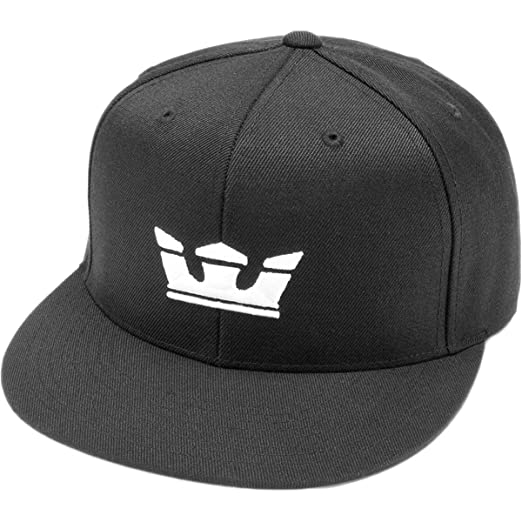 Supra Mens Icon Snapback Hat One Size Black at Amazon Men s Clothing ... 82f40262157