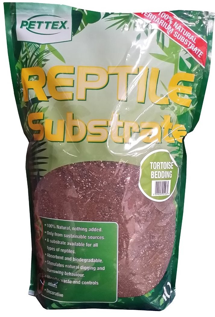 2 x Bags of Pettex Reptile Tortoise Bedding Substrate. Great for Mediterranean tortoises (20 Litre Total)