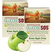 Glucose SOS Glucose Powder for Low Blood Sugar, Instant Dissolve, Fast Absorbing, All Natural Dextrose for Diabetics…