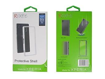 ROXfit Gel Shell Case for Sony Xperia Z2 - Polar White (SMA4141W)
