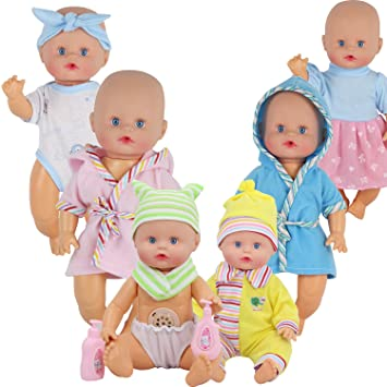 Amazon Com Young Buds Pack Of 6 For 9 10 11 Inch Alive Baby Doll