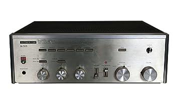 Harman/Kardon HK 505 estéreo amplificador en plata