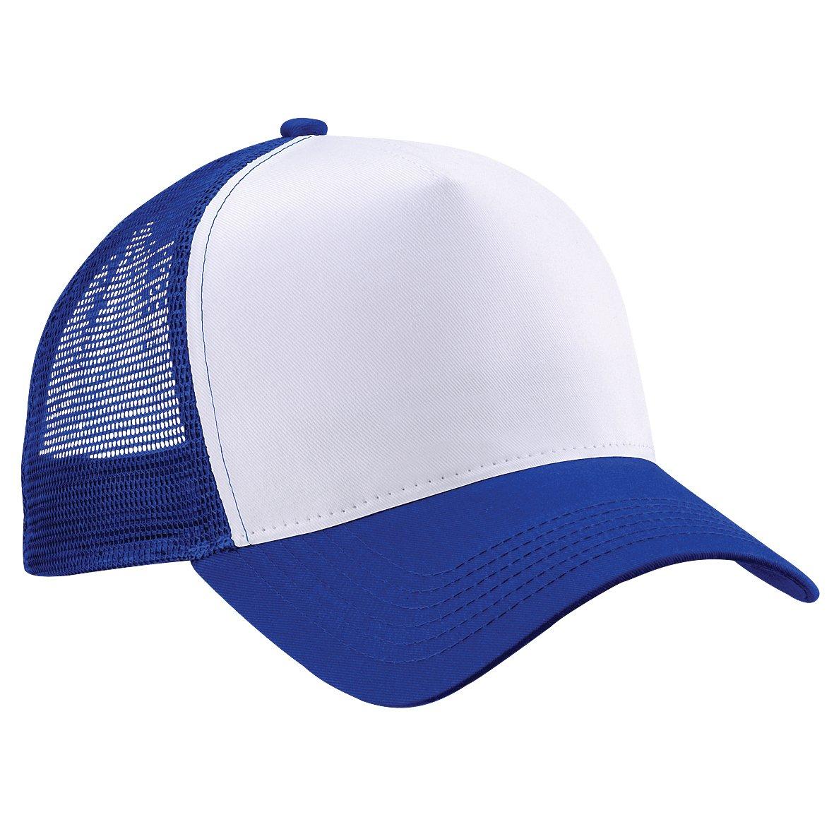 Beechfield Mens Half Mesh Trucker Cap//Headwear