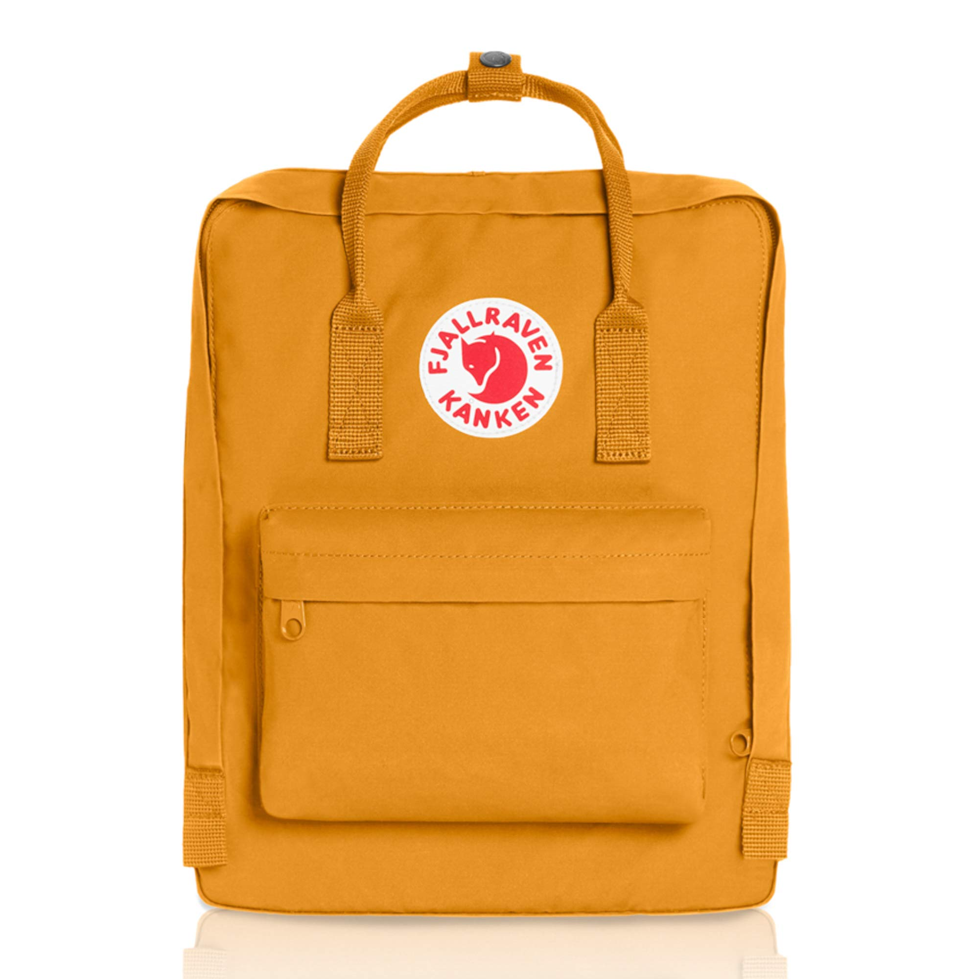 Fjallraven - Kanken Classic Pack, Heritage and Responsibility Since 1960, One Size,Ochre