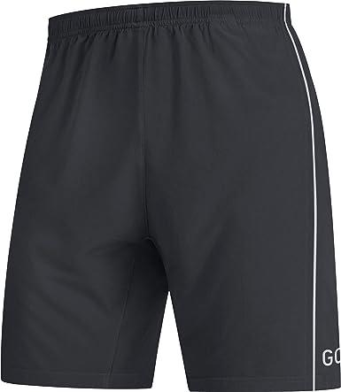 M GORE WEAR R5 Pantal/ón corto de running 2 en 1 para hombre negro
