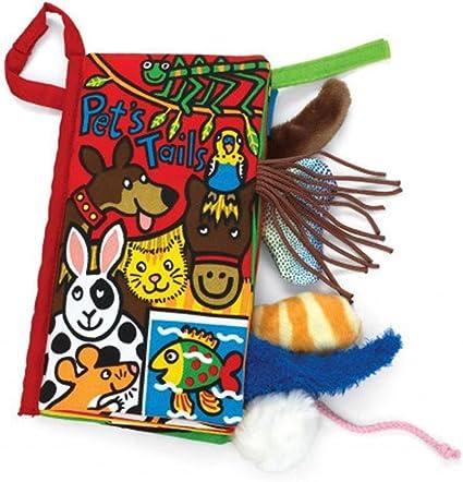 Malloom/® colas animales libro de tela beb/é de juguete Desarrollo Libros Aprendizaje y Educaci/ón libros kitty tails