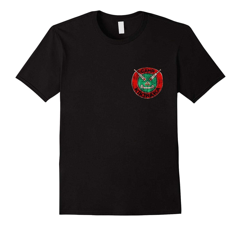 reach the symbol KIKIWAKA front small bag kids t-shirt-Teevkd