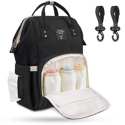 Mochila para pañales de bebé Airlab, con ganchos para el carrito, multifuncional con muchos