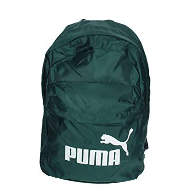 Puma 075752 04 Mochila Hombre Verde obscuro TU: Amazon.es: Ropa y accesorios
