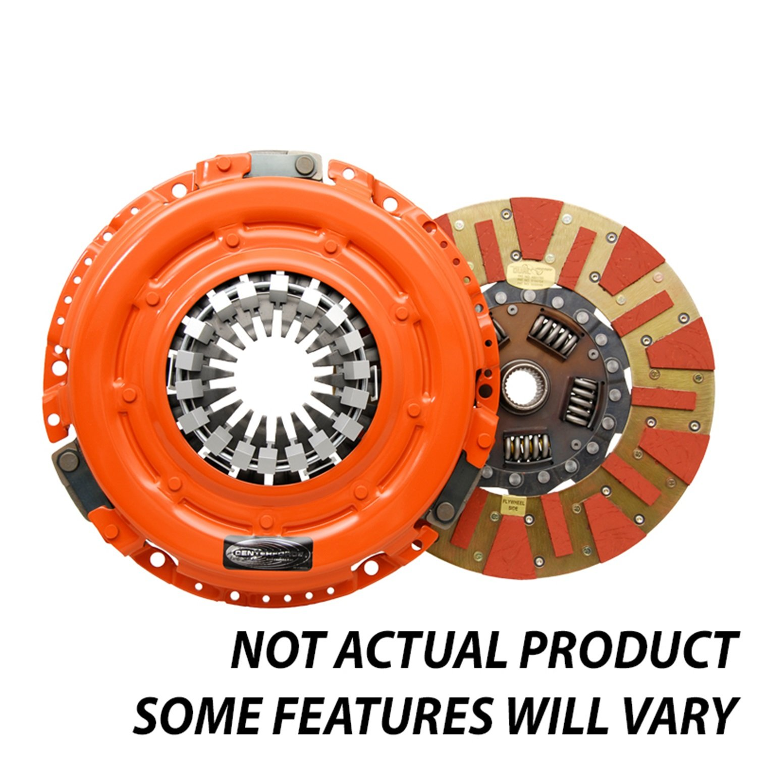 Centerforce DF163473 Dual Friction Clutch Pressure Plate and Disc