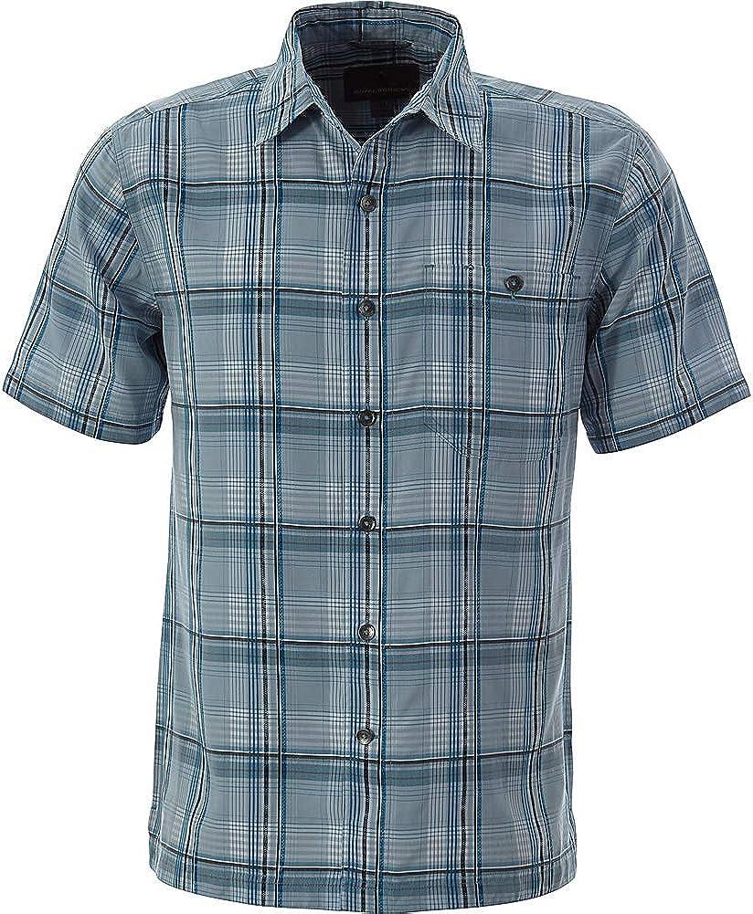 Royal Robbins Mojave Dobby Plaid Short Sleeve Shirt