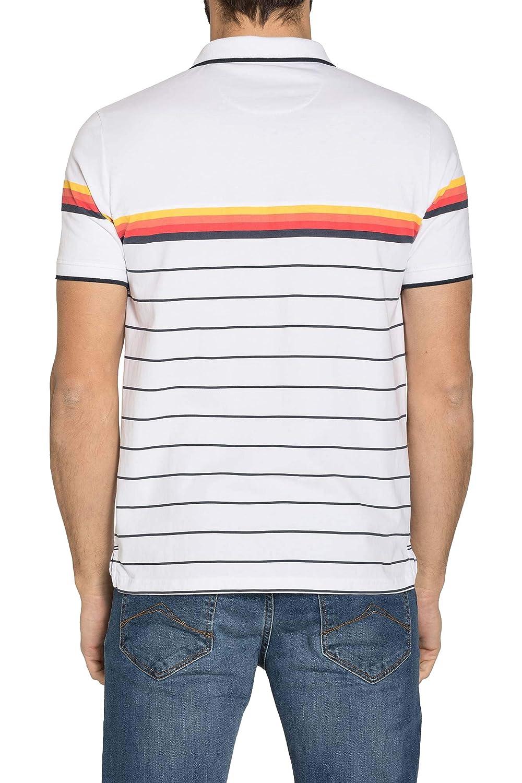Carrera Jeans - Camiseta Tipo Polo para Hombre, Estilo Estampado ...
