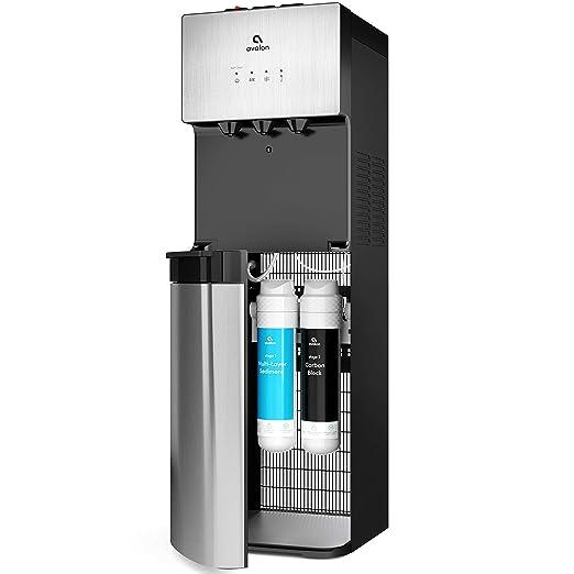 Amazon.com: Avalon dispensador de agua refrigerada, agua sin ...