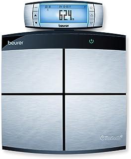Beurer BF 105 - Báscula digital diagnóstica profesional con función bluetooth, con App en español