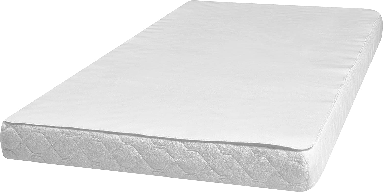 Amazon.com: Playshoes 100 x 200cm Molton Mattress Protector ...