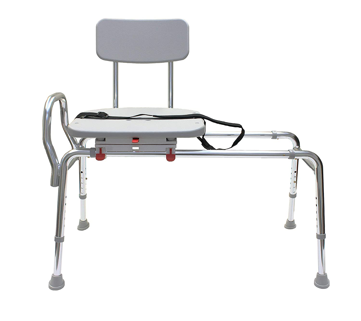 Miraculous Swiveling And Sliding Bathtub Transfer Bench And Shower Chair Reg 77662 Swiveling And Sliding System Multiple Safety Features Tool Less Machost Co Dining Chair Design Ideas Machostcouk