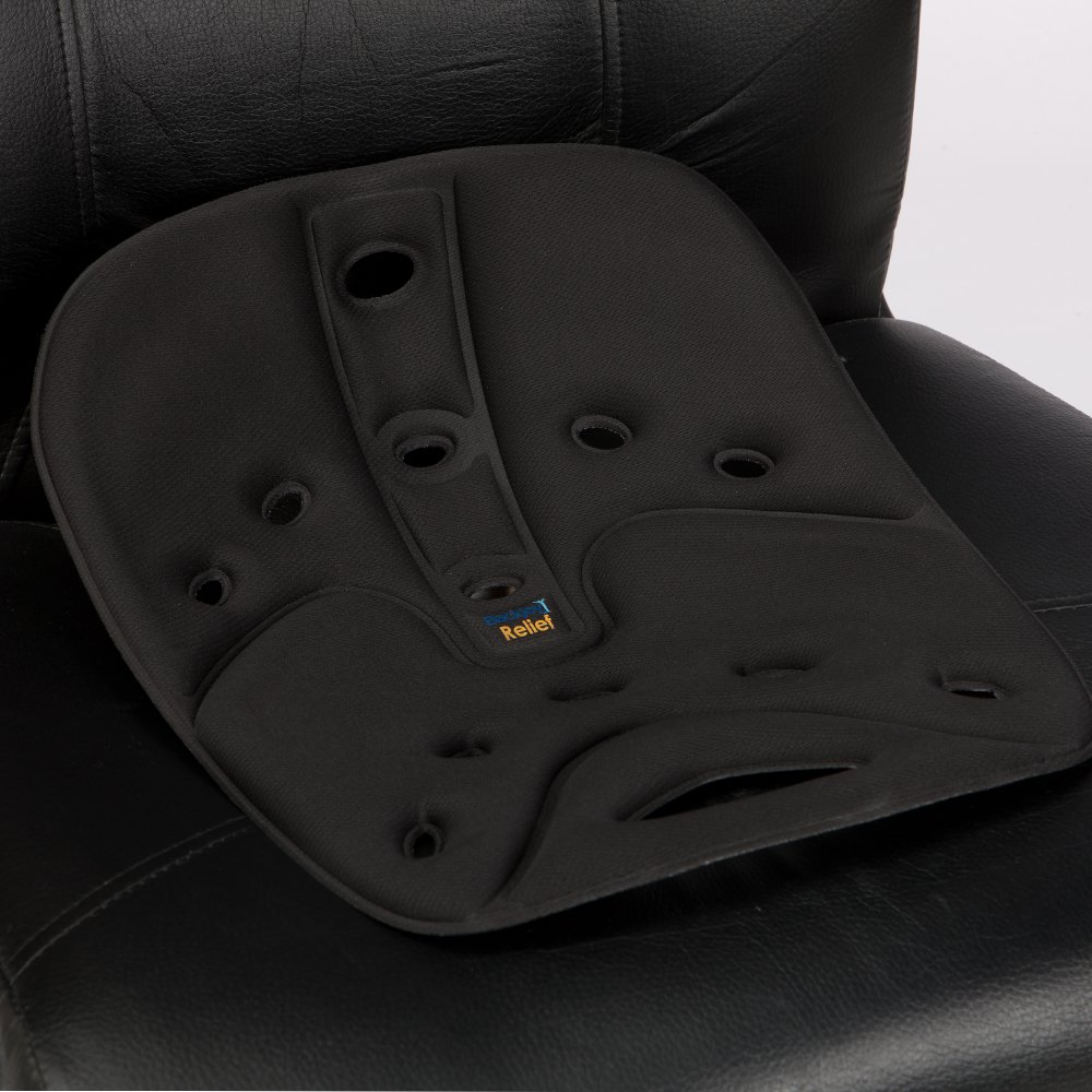 BackJoy SitSmart Fabric Posture Cushion | Lumbar Support for Car and Back Support by BackJoy (Image #3)