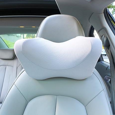 Car Headrest Pillow Neck Memory Foam With AdjustableCar Seat Head