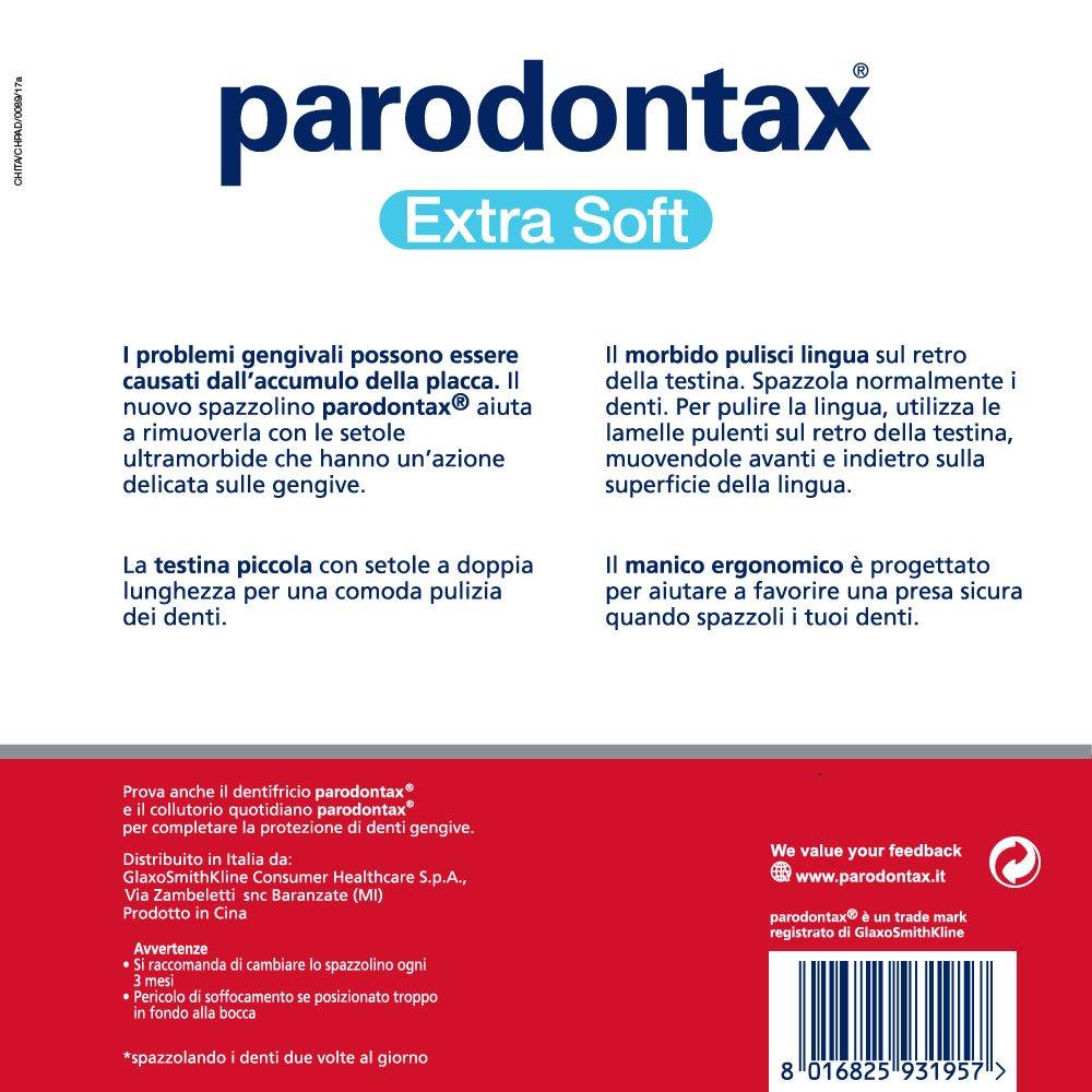 Parodontax cepillo Extrasoft - Paquete de 12 x 23 g: Amazon.es: Salud y cuidado personal