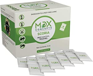 mdxconcepts Natural Pest Control Pouches – Pack of 12 – Repels Rodents, Spiders, Roaches, Moths, Ants and More - Non Toxic