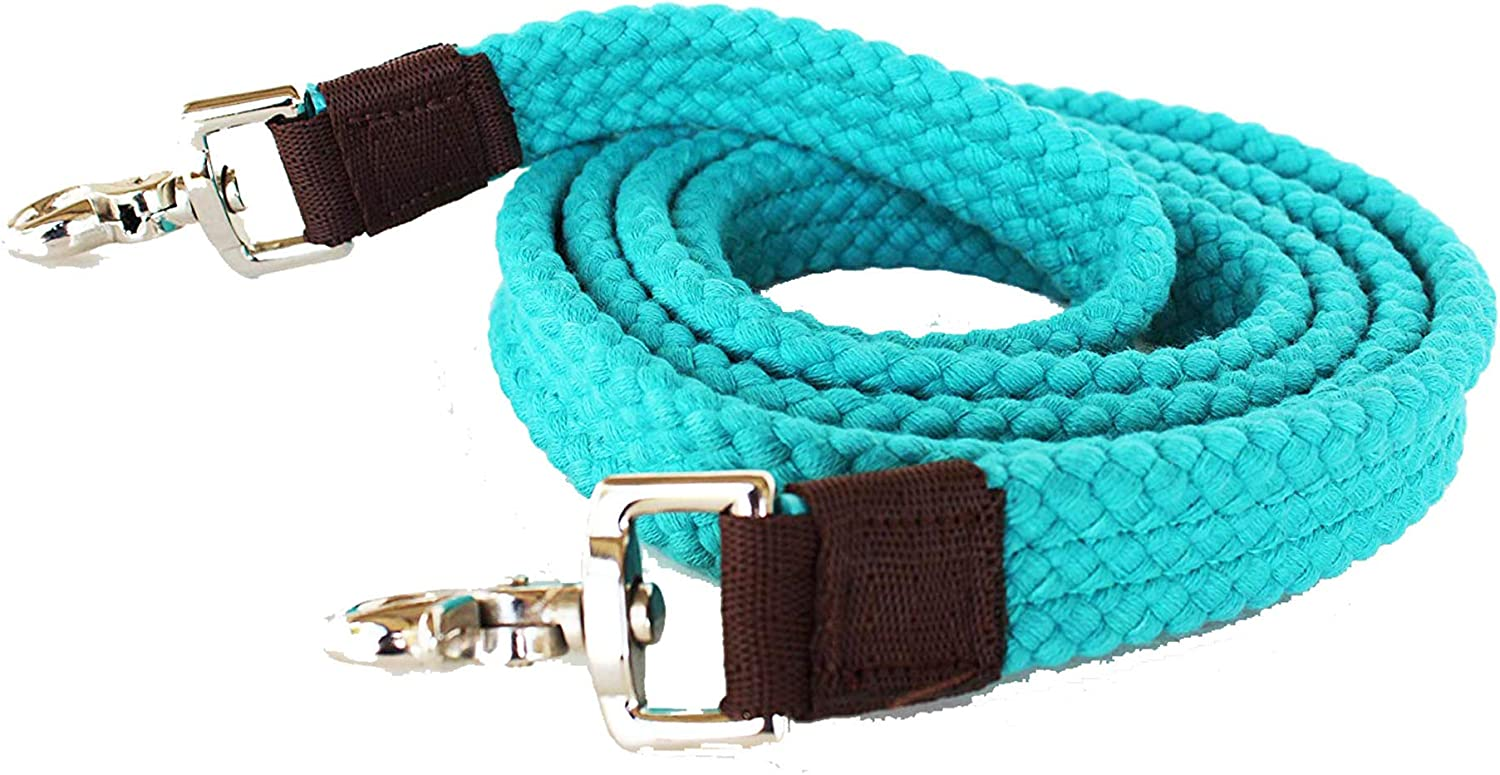 Western Horse Hair tirettes rose bleu turquoise Accent crin Pull