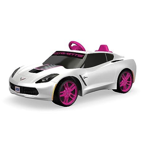 Amazon Com Fisher Price Power Wheels Girls Corvette 6v Battery