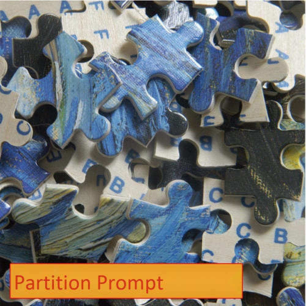 1000 stukjes houten puzzel voor volwassenen/kinderen decompressie speelgoedpuzzel onder de sterrenhemel, complete afmeting 75 * 50 I partition ydGDqPTP