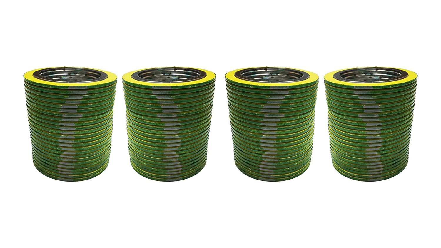 QTY: 96 Pack of 96 of NJ for 1//2 Pipe Sterling Seal 9000.500316GR600X96 316L Stainless Steel spiral Wound Gasket with Flexible Graphite Filler for 1//2 Pipe 0.5 Supplied by Sur-Seal Inc Pressure Class 600# green Band with Grey Stripes 0.5