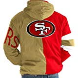 cheaper 65c09 a8ab3 Amazon.com : San Francisco 49ers Jacket Suede Leather Sf ...
