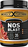 Body Fortress Super Advanced NOS Blast, Fruit Punch, 1 Pounds